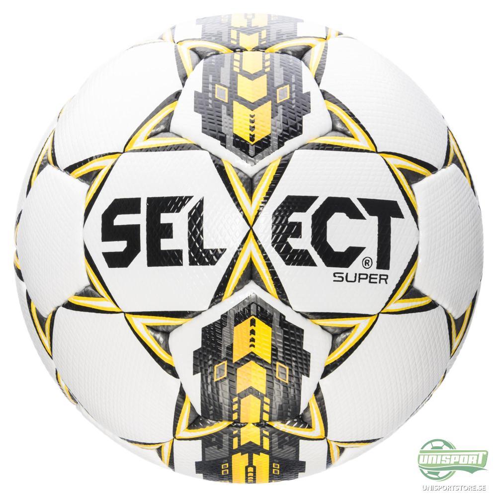 Select Fotboll Super Vit/Gul