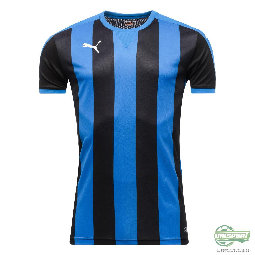 Puma Matchtröja Striped Blå/Svart