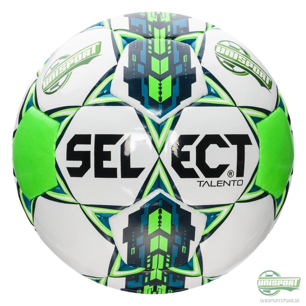Select Fotboll Talento Unisport Vit/Grön