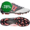 Warrior Sports - Gambler S-Lite FG White/Black/Neon Pink