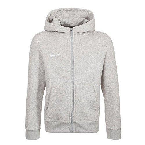 Nike Luvtröja Team Club FZ Grå Barn