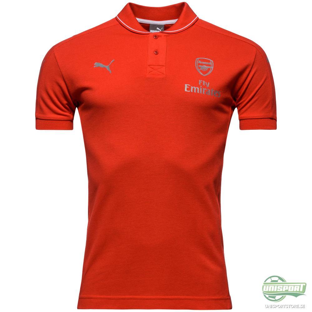 Arsenal Pikétröja Casual Performance Röd