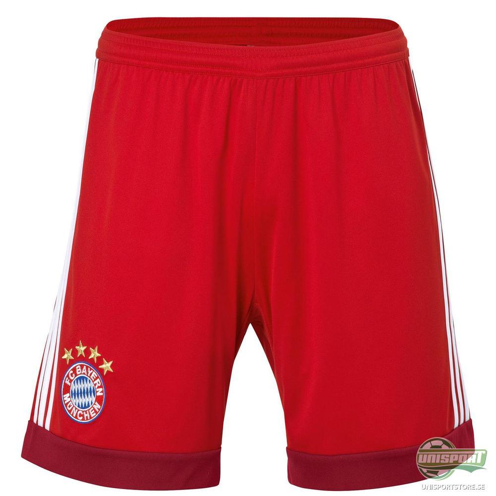 Bayern München Målvaktsshorts 2015/16 Röd Barn