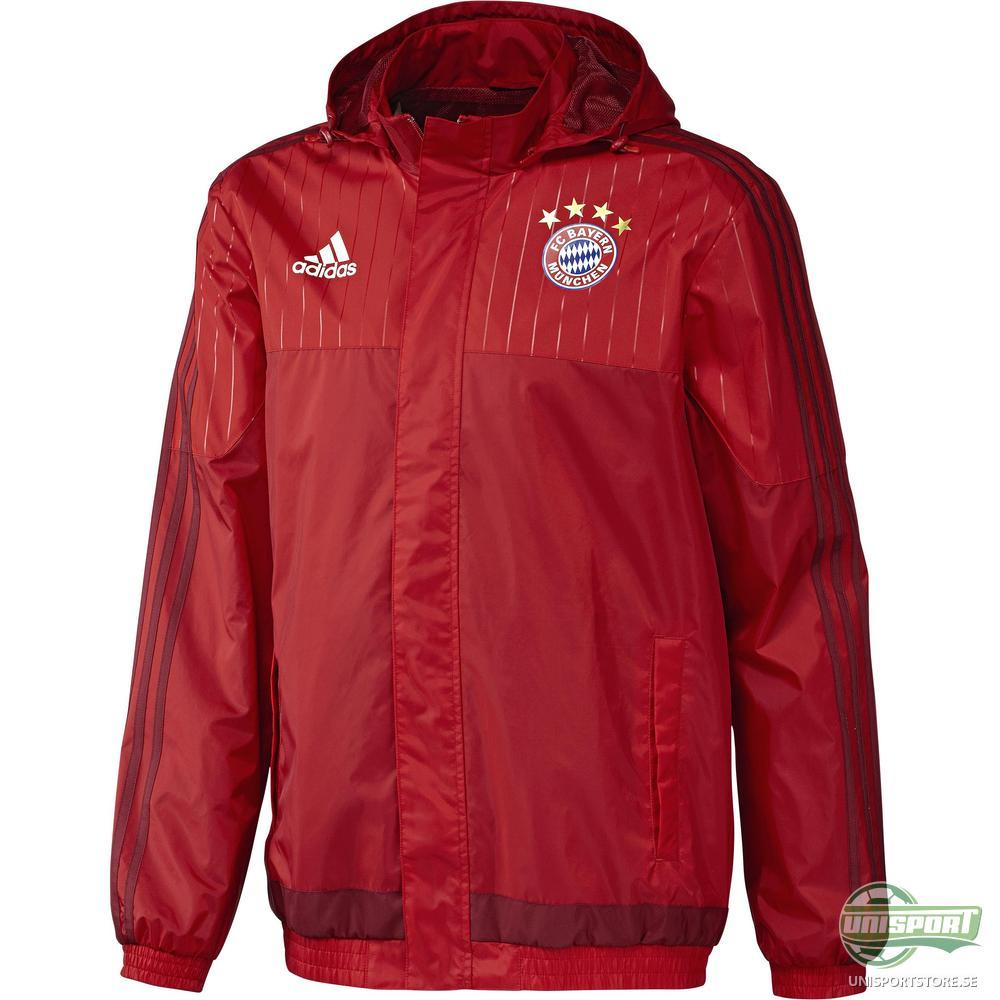Bayern München Regnjacka Röd