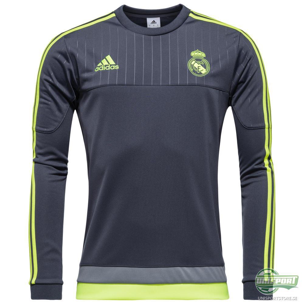 Real Madrid Träningströja Sweat Grå/Gul