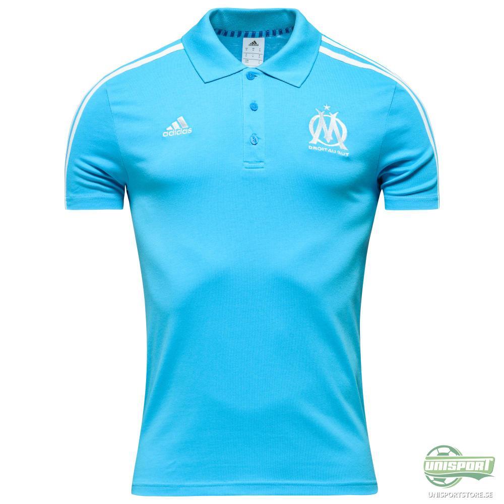Marseille Pikétröja 3S Blå/Vit