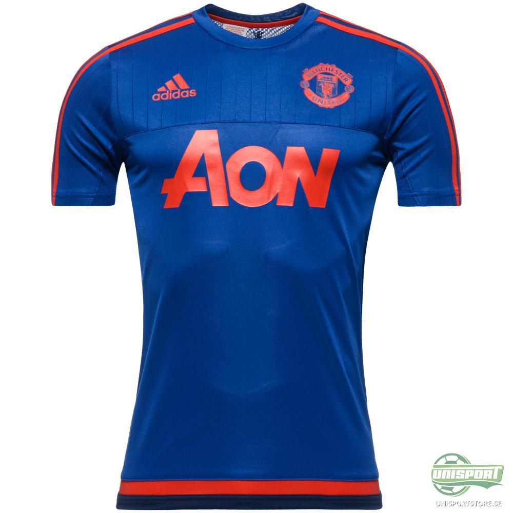 Manchester United T-Shirt Träning Blå/Röd/Navy Barn