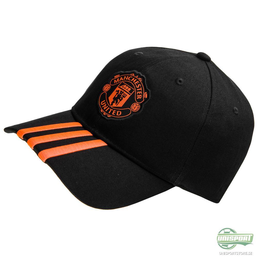 Manchester United Keps 3S Svart/Röd