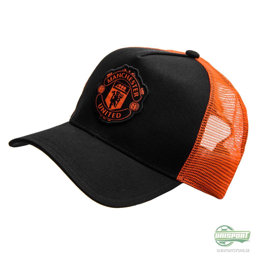 Manchester United Keps Trucker Svart/Röd