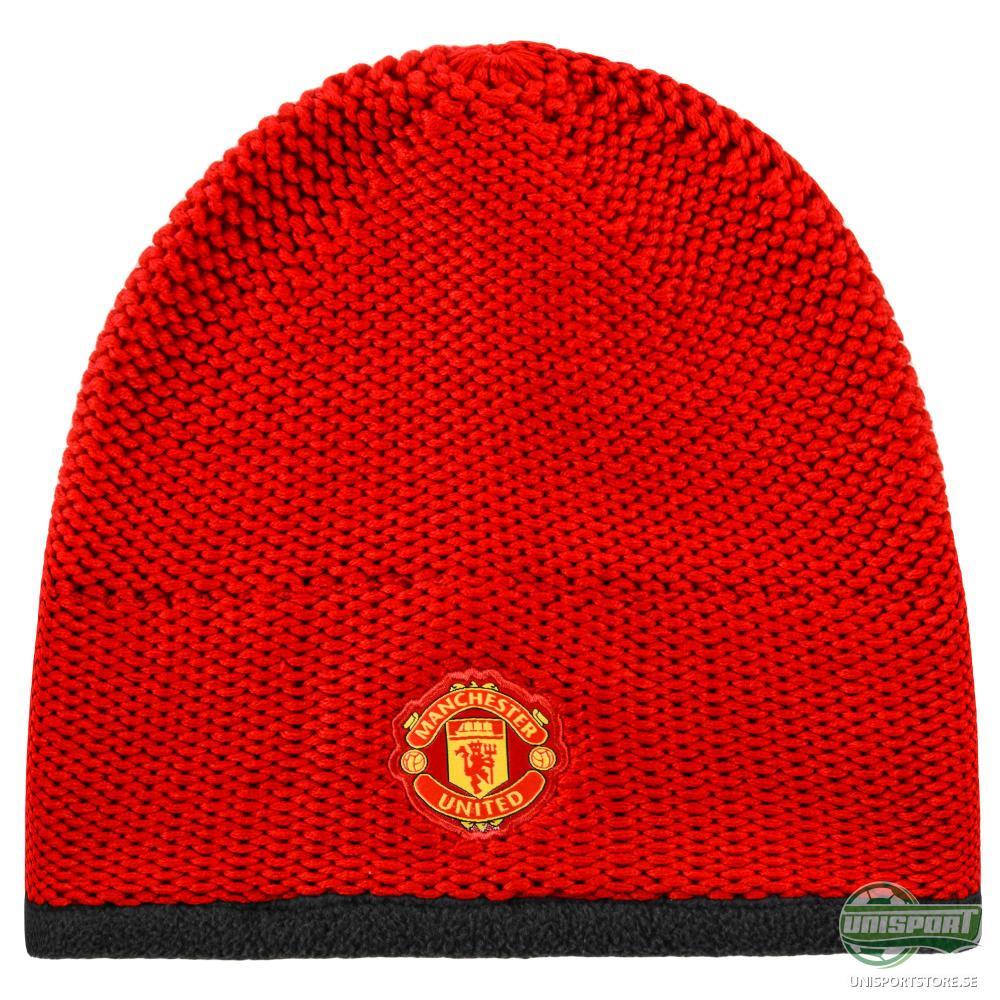 Manchester United Mössa Röd/Vit