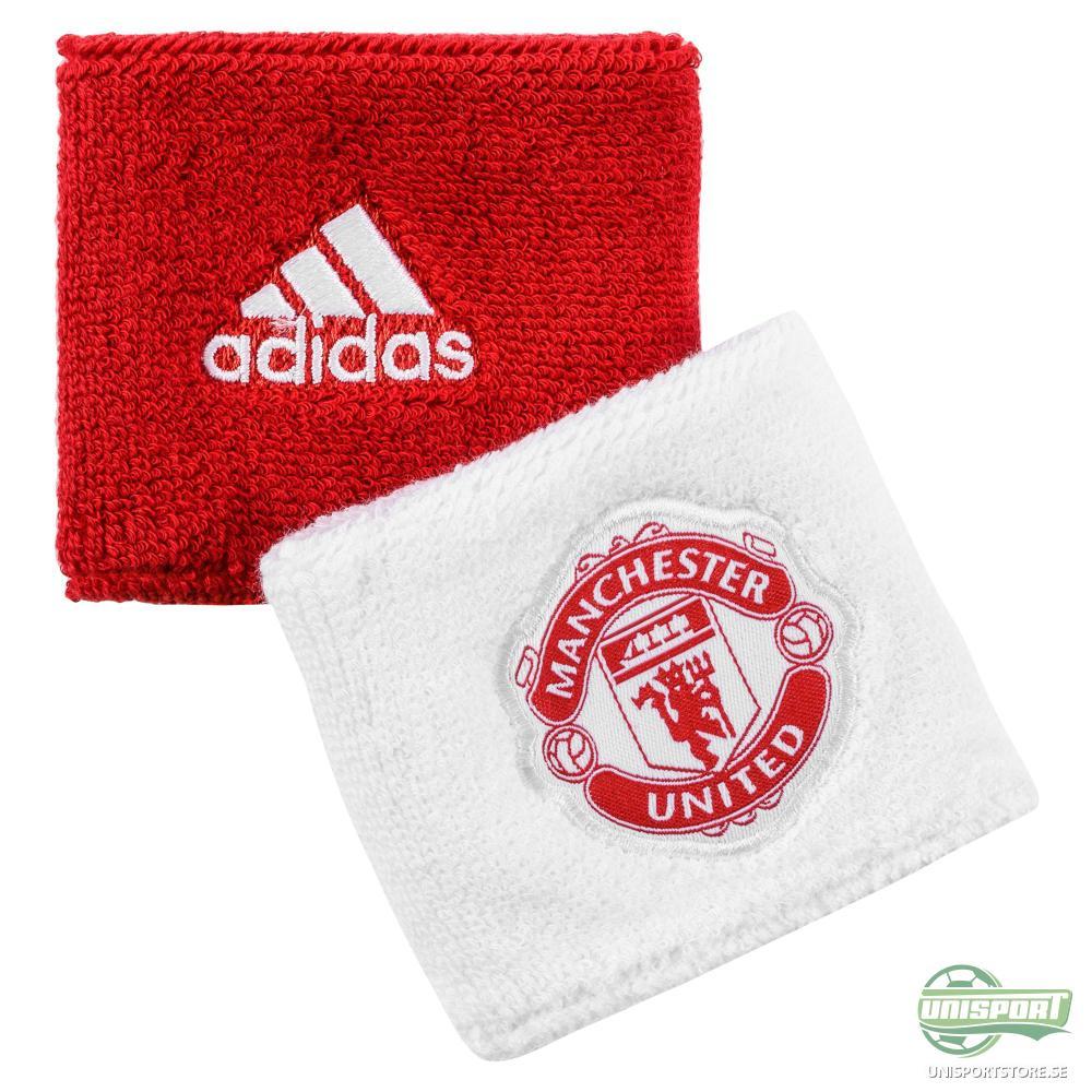 Manchester United Svettband Vit/Röd