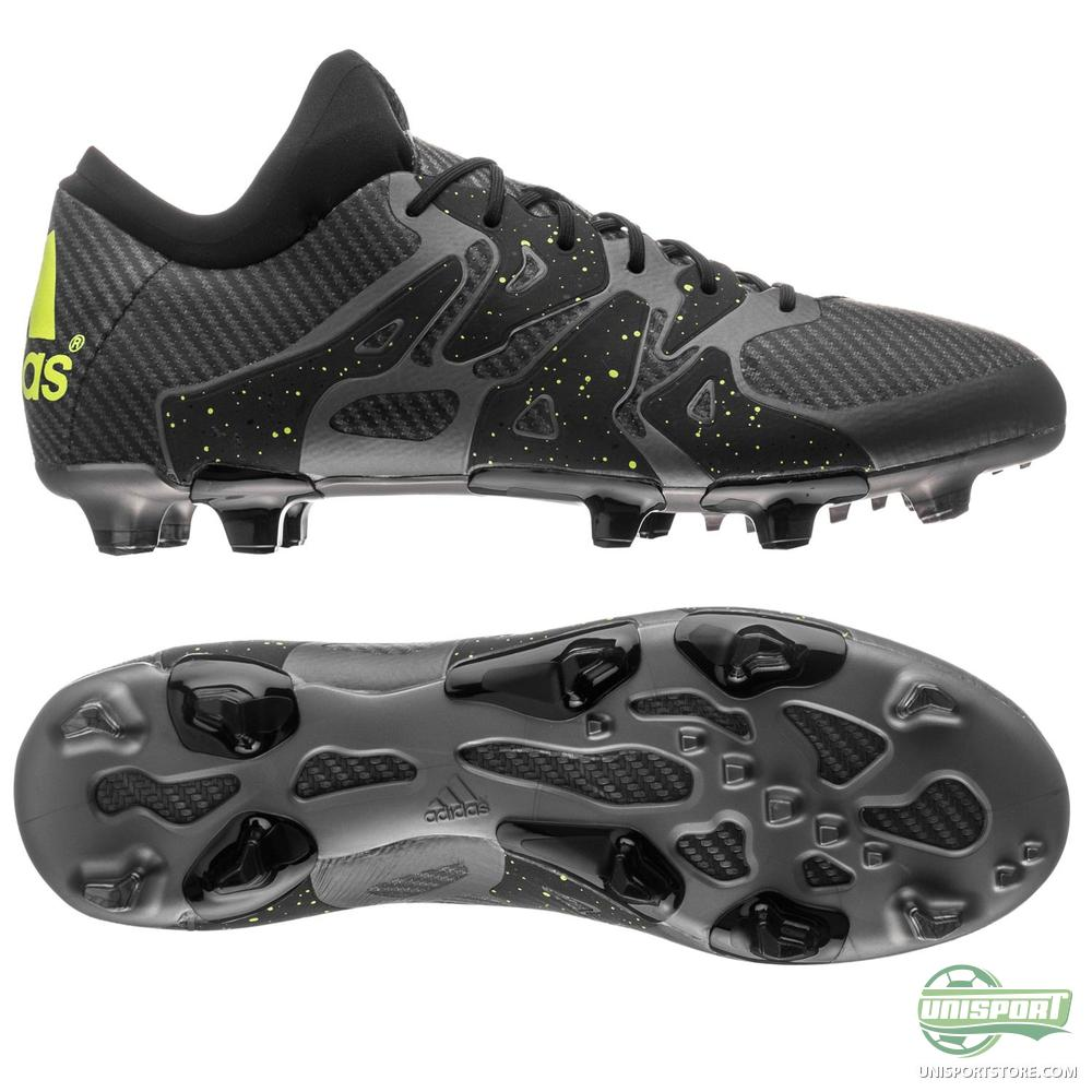 adidas x 15 1 fg ag core black solar yellow night metallic. Black Bedroom Furniture Sets. Home Design Ideas