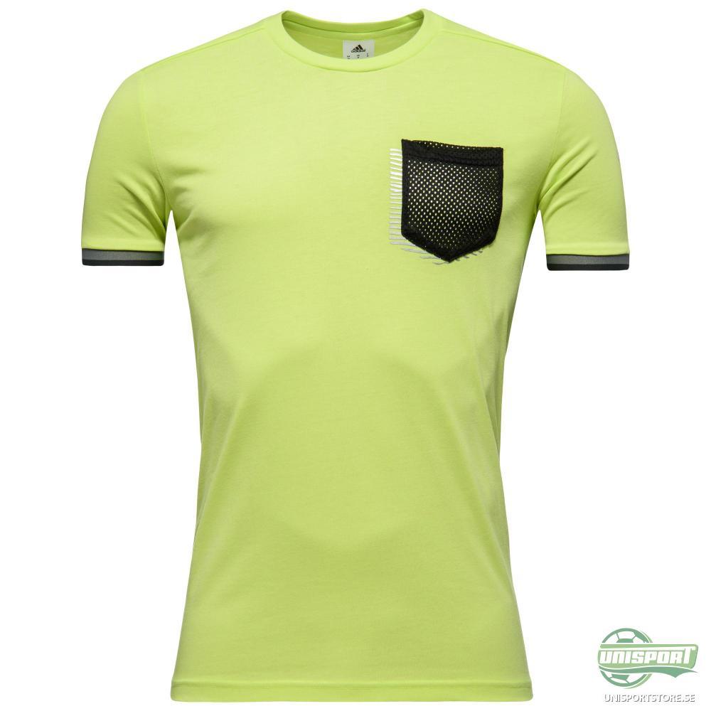 adidas Tränings T-Shirt UFB Gul/Grå