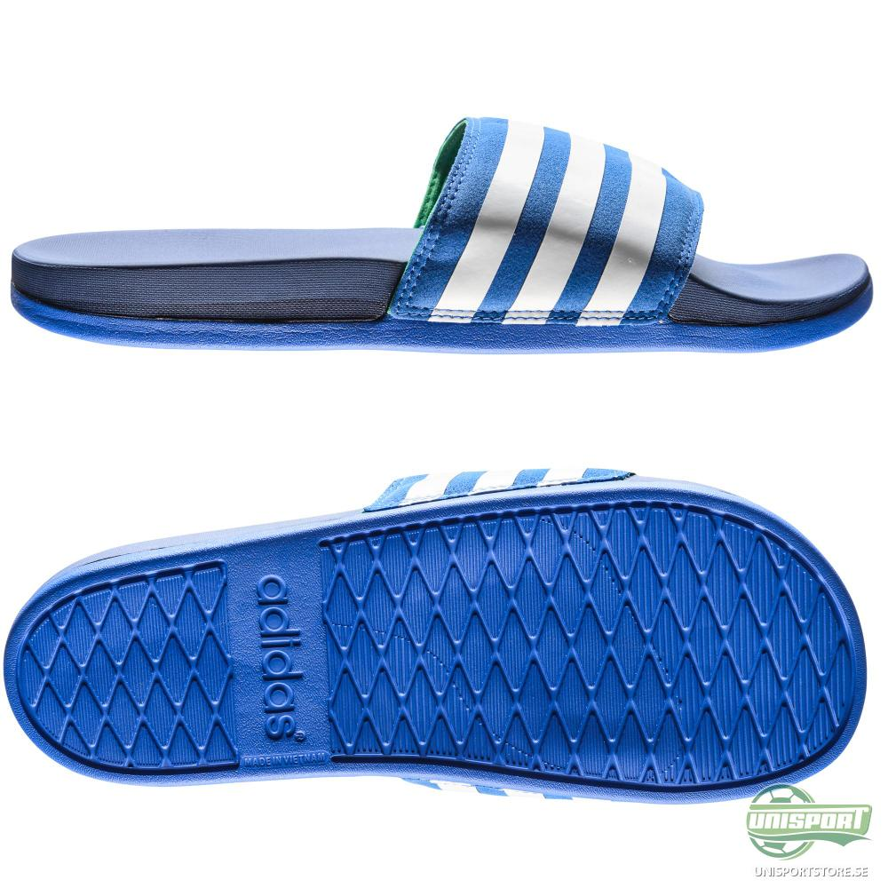 adidas Badtofflor adilette Supercloud Plus Blå/Navy/Vit
