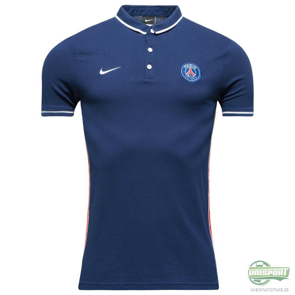 Paris Saint Germain Piké League Authentic Navy/Vit