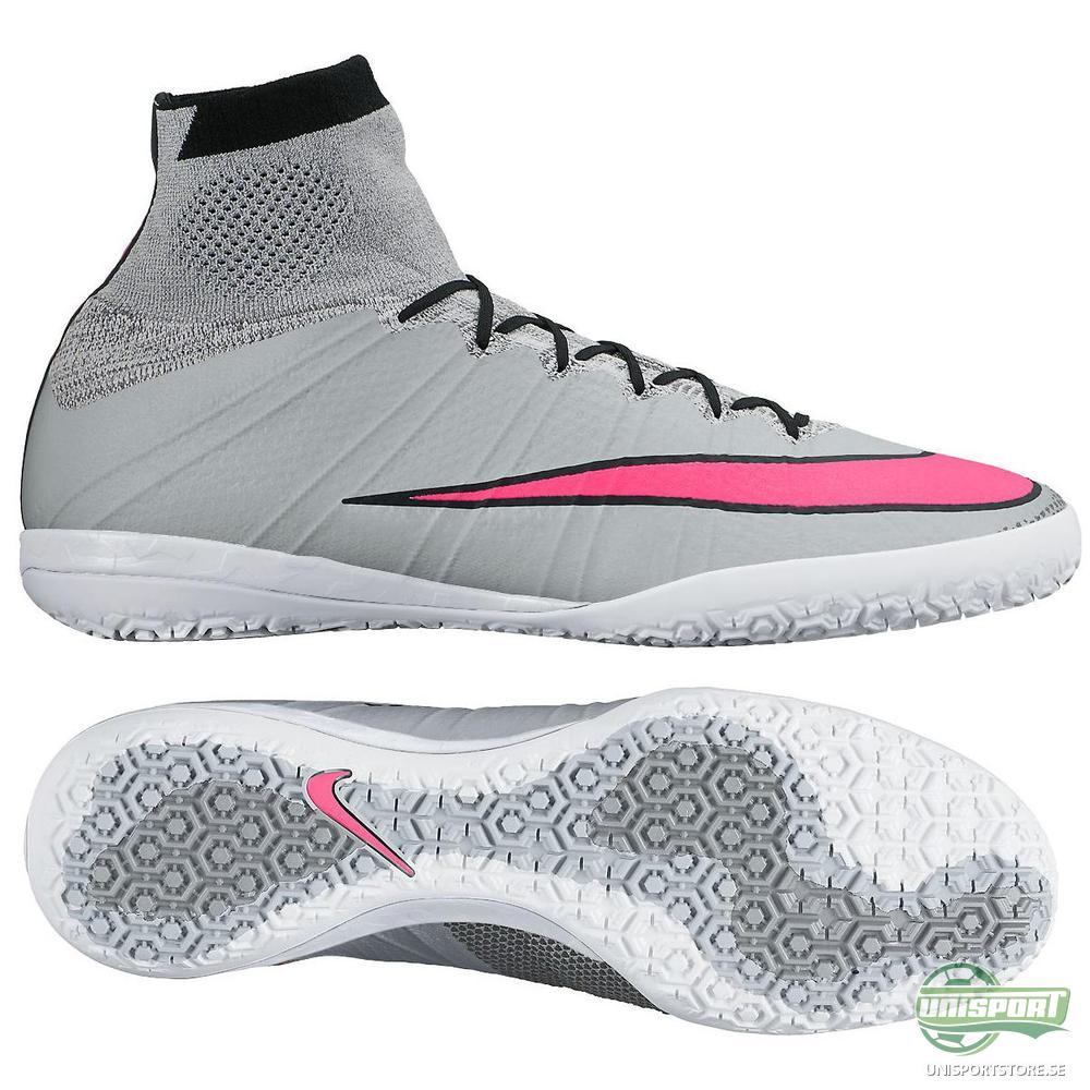 Nike MercurialX Proximo IC Grå/Rosa/Svart