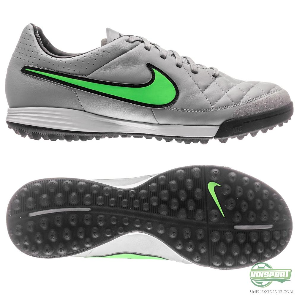 nike tiempo legacy tf wolf grey green strike black. Black Bedroom Furniture Sets. Home Design Ideas