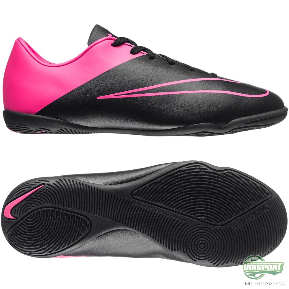 nike mercurial victory v ic black hyper pink kids www. Black Bedroom Furniture Sets. Home Design Ideas