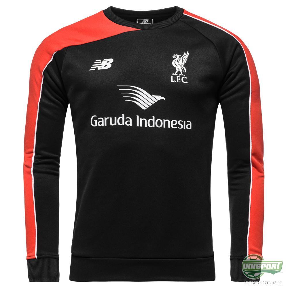 Liverpool Träningströja Svart/Röd