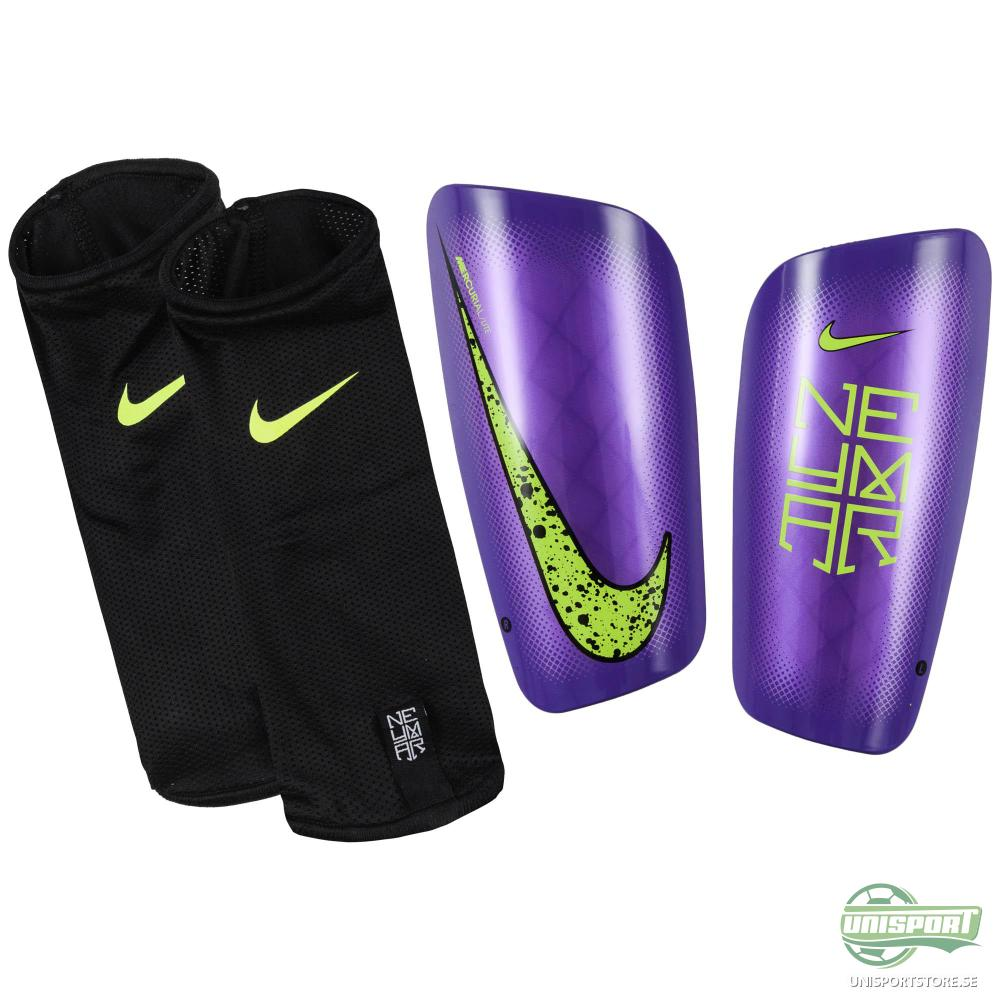 Nike Benskydd Mercurial Lite Neymar JR Lila/Svart