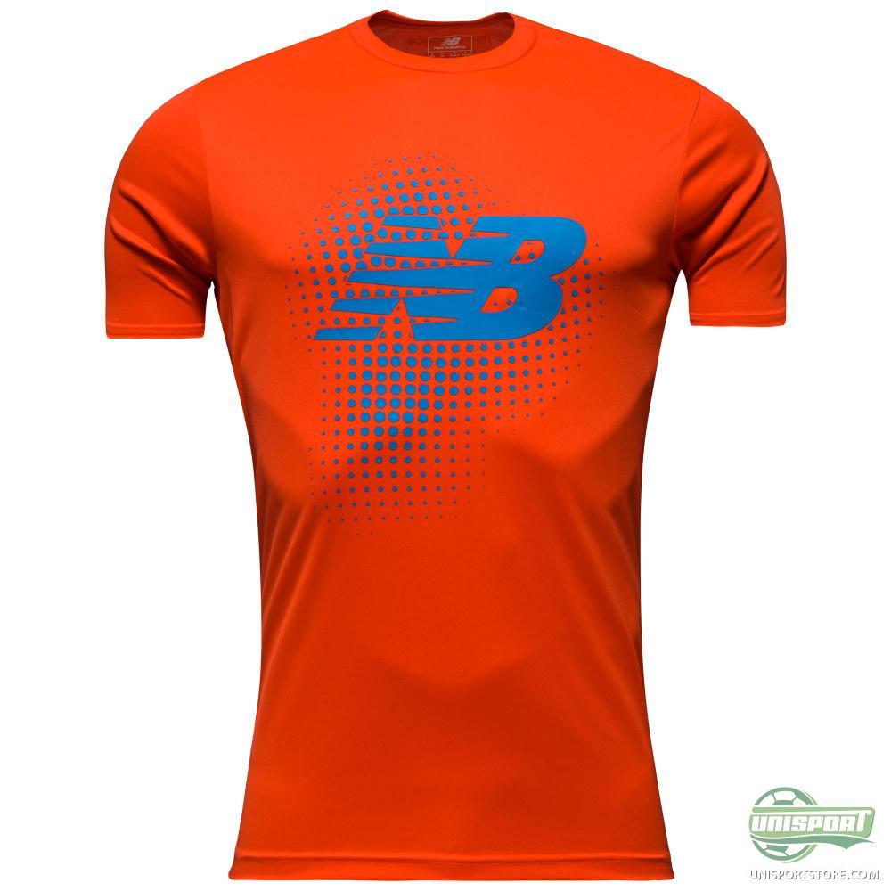 New Balance Training T Shirt Take Down Red Www