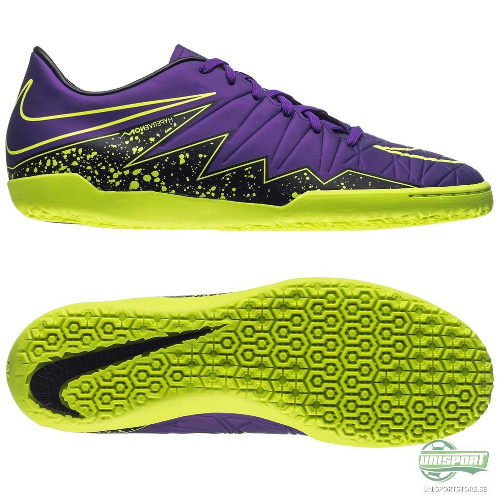 Nike Hypervenom Phelon II IC Lila/Svart/Neon