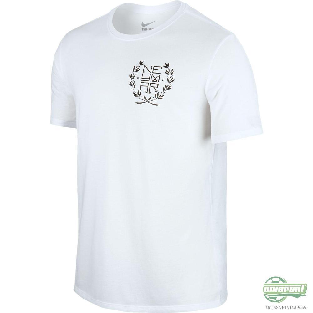 Nike T-Shirt Neymar Logo Vit