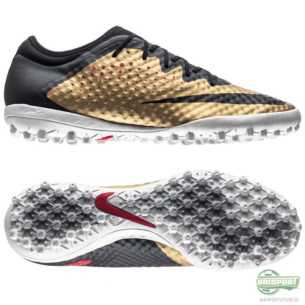 Nike MercurialX Finale TF Guld/Svart/Röd