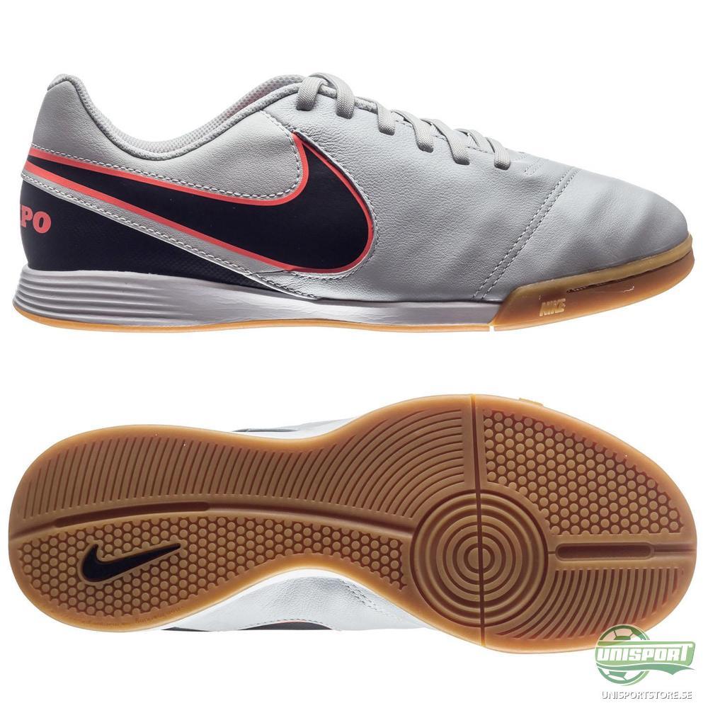 Nike Tiempo Legend 6 IC Vit/Svart/Orange Barn