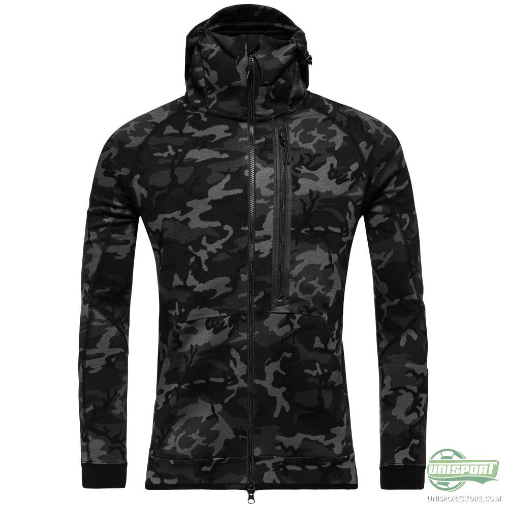 nike hoodie tech fleece camo black navy www. Black Bedroom Furniture Sets. Home Design Ideas