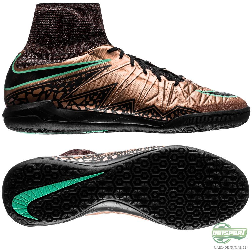 Nike HypervenomX Proximo IC Brons/Svart/Grön