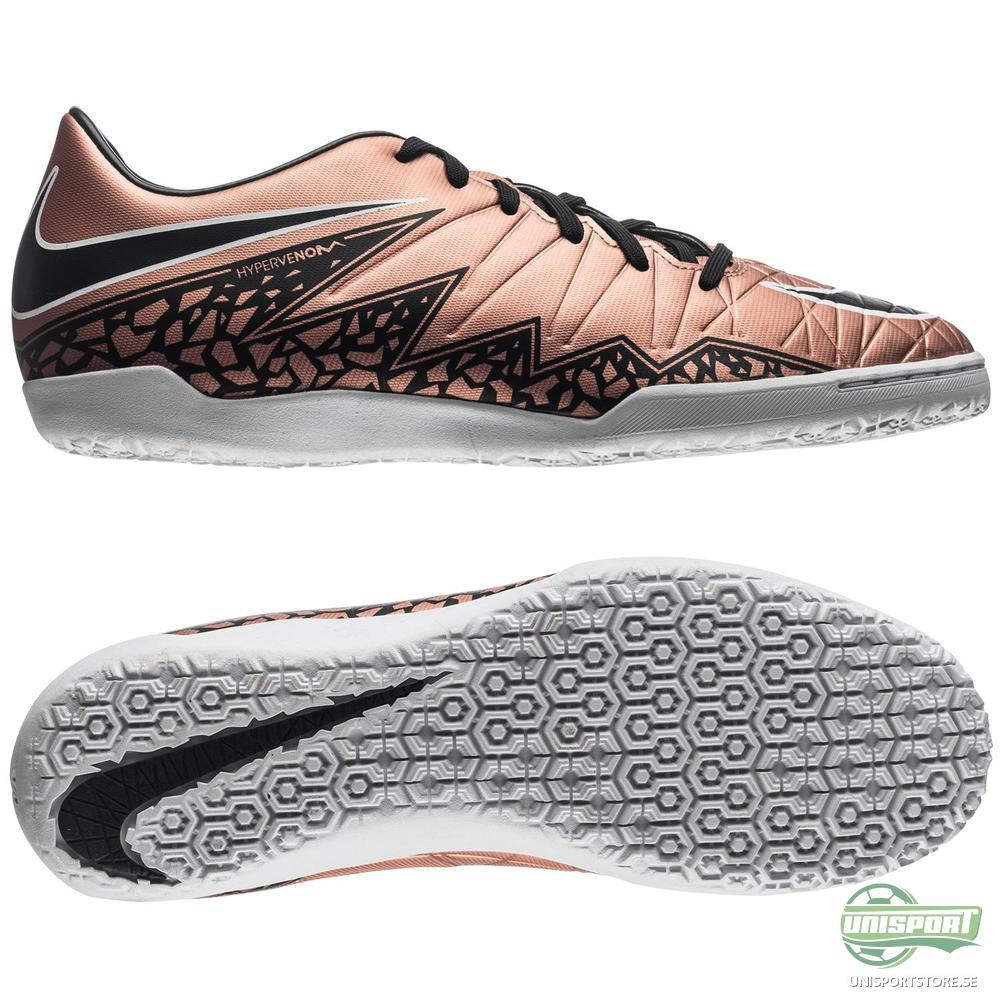 Nike Hypervenom Phelon II IC Brons/Svart/Grön