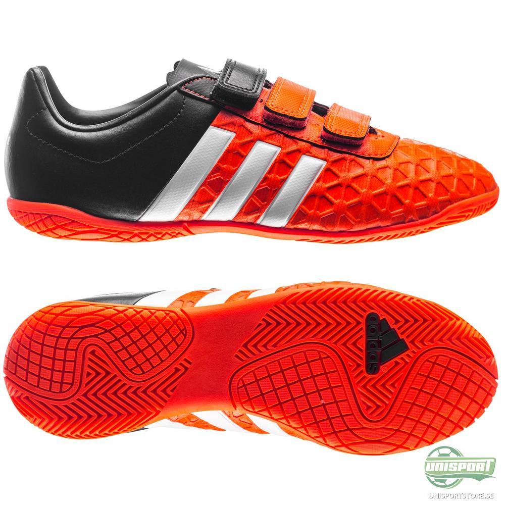 adidas Ace 15.4 IN Orange/Vit/Svart Barn