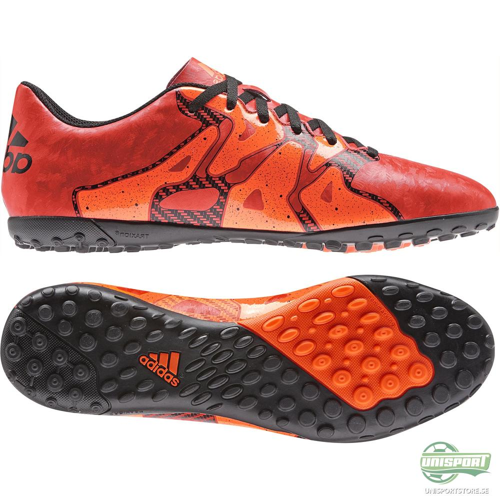 adidas X 15.4 TF Röd/Orange/Svart