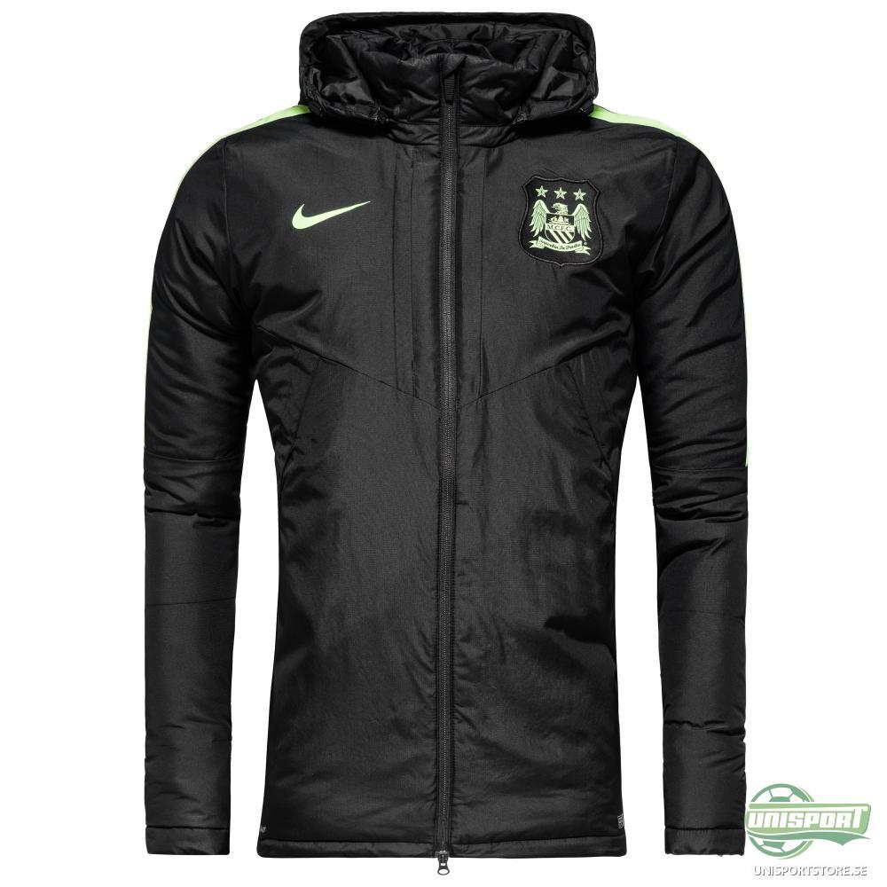 Manchester City Jacka Medium Fill Svart/Grön
