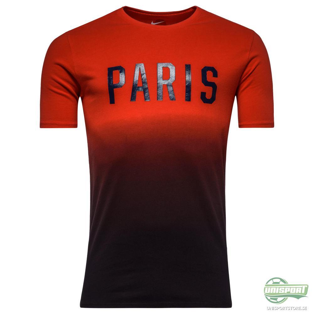 Paris Saint Germain T-Shirt Match Röd