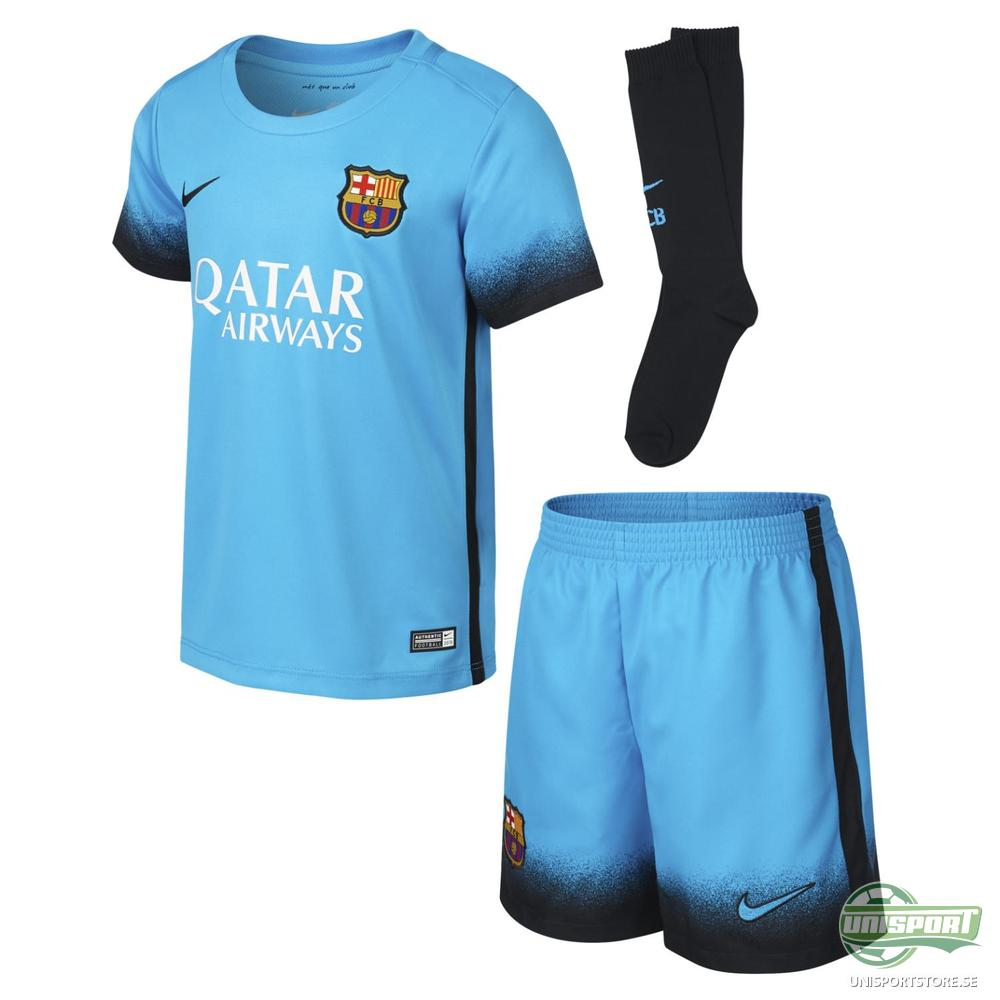 Barcelona 3:e Tröja 2015/16 Mini-Kit Barn