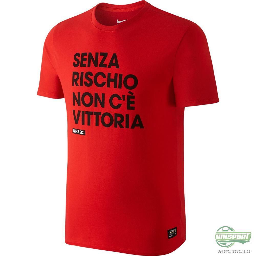 Nike F.C. T-Shirt Without Risk Röd/Svart