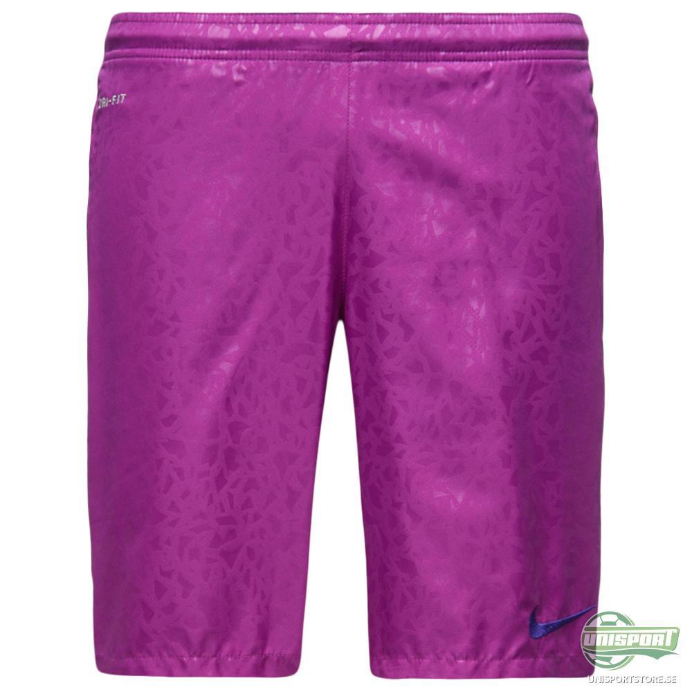 Nike Shorts Strike Longer Woven Graphic Lila/Svart