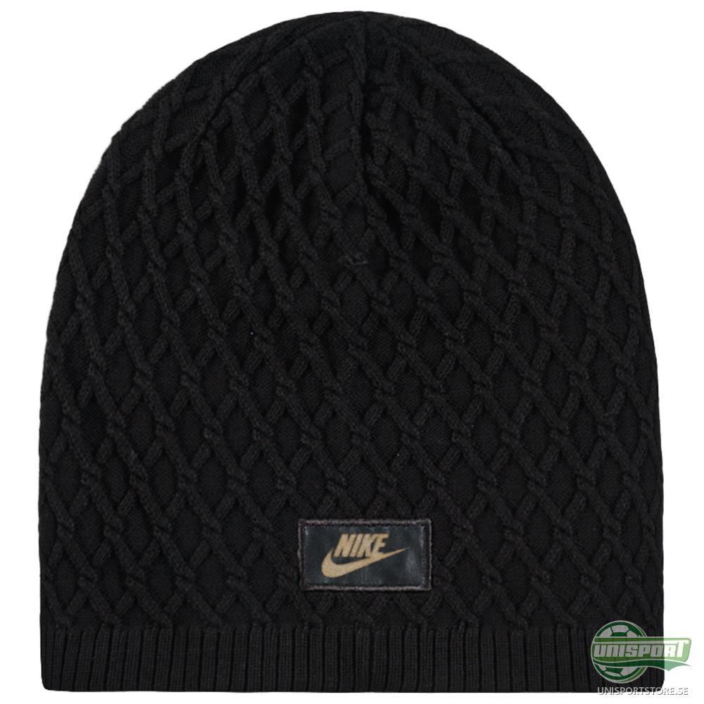 Nike Mössa Cable Knit Svart