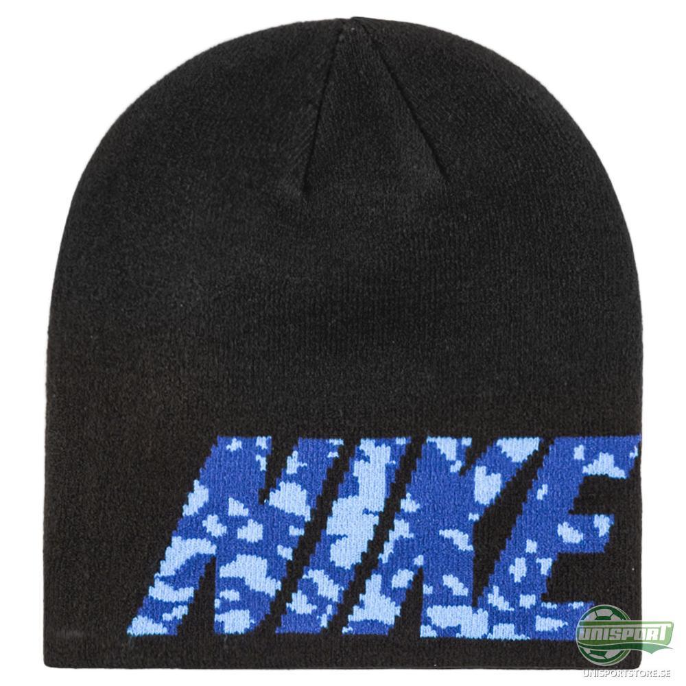 Nike Mössa Camo Spill Svart/Blå
