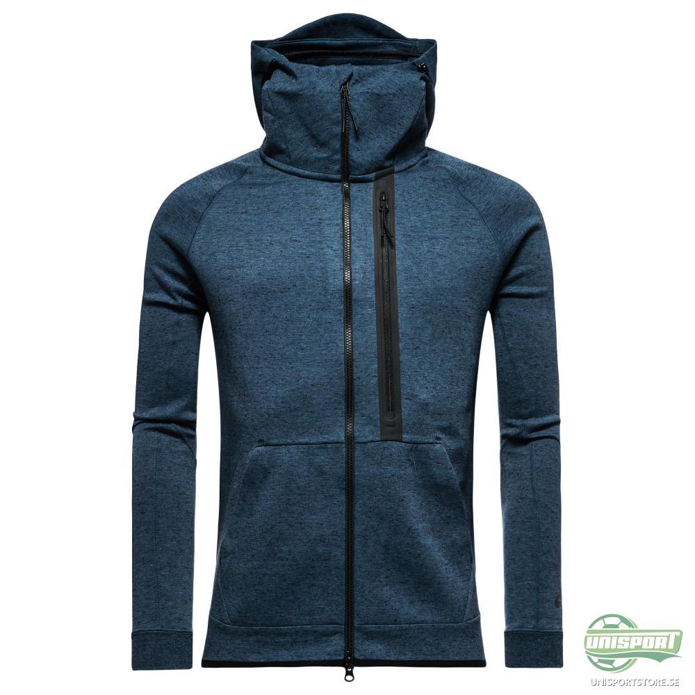 Nike Luvtröja Tech Fleece FZ Blå