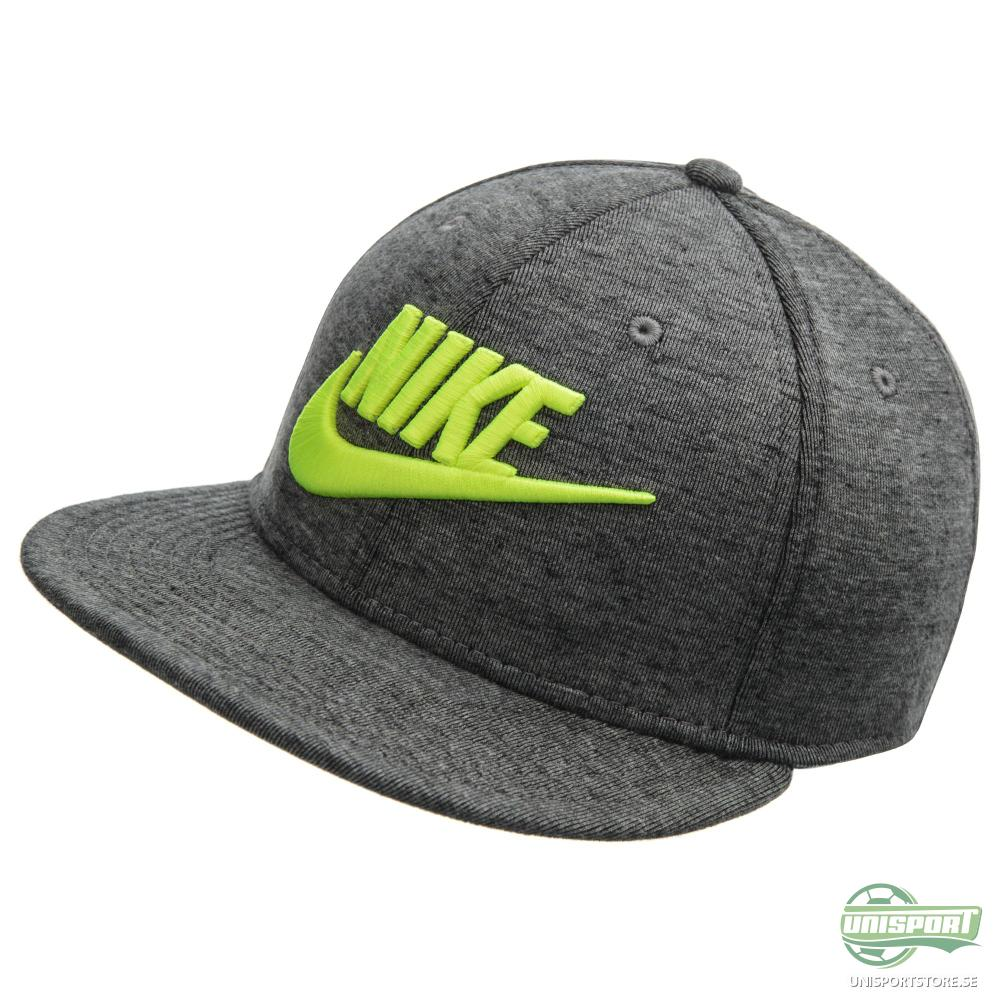 Nike Snapback Tech Fleece True Grå/Neon