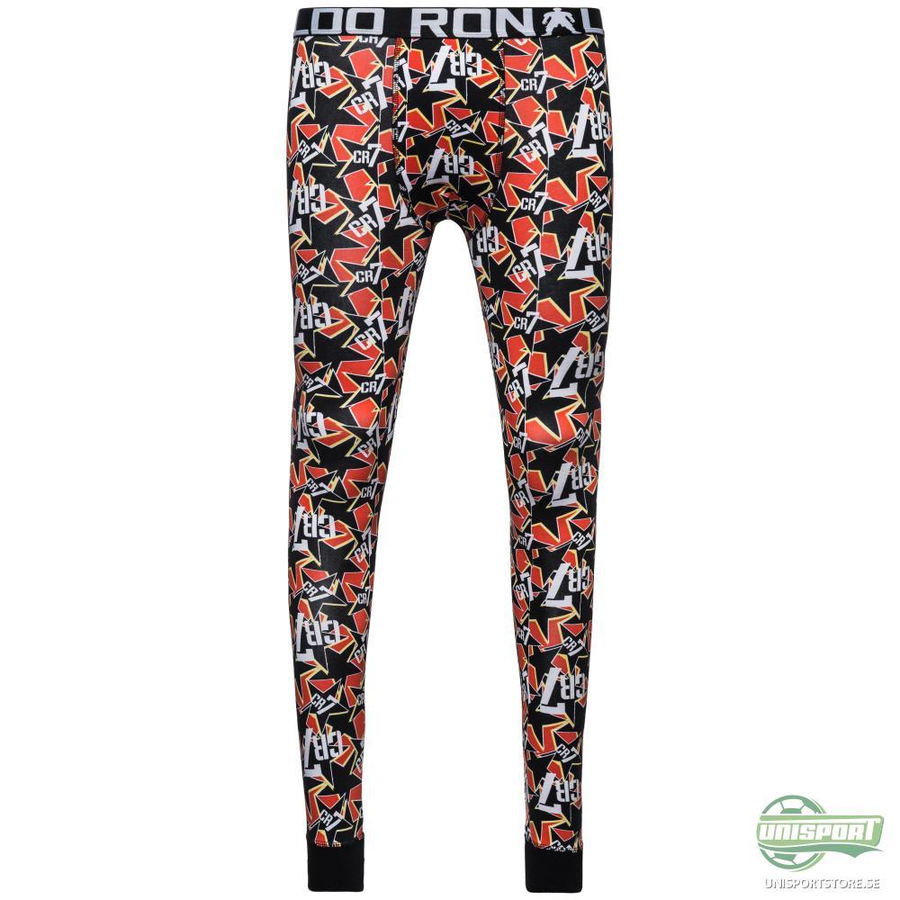 CR7 Underwear Long Johns Basic Orange/Vit/Svart Barn