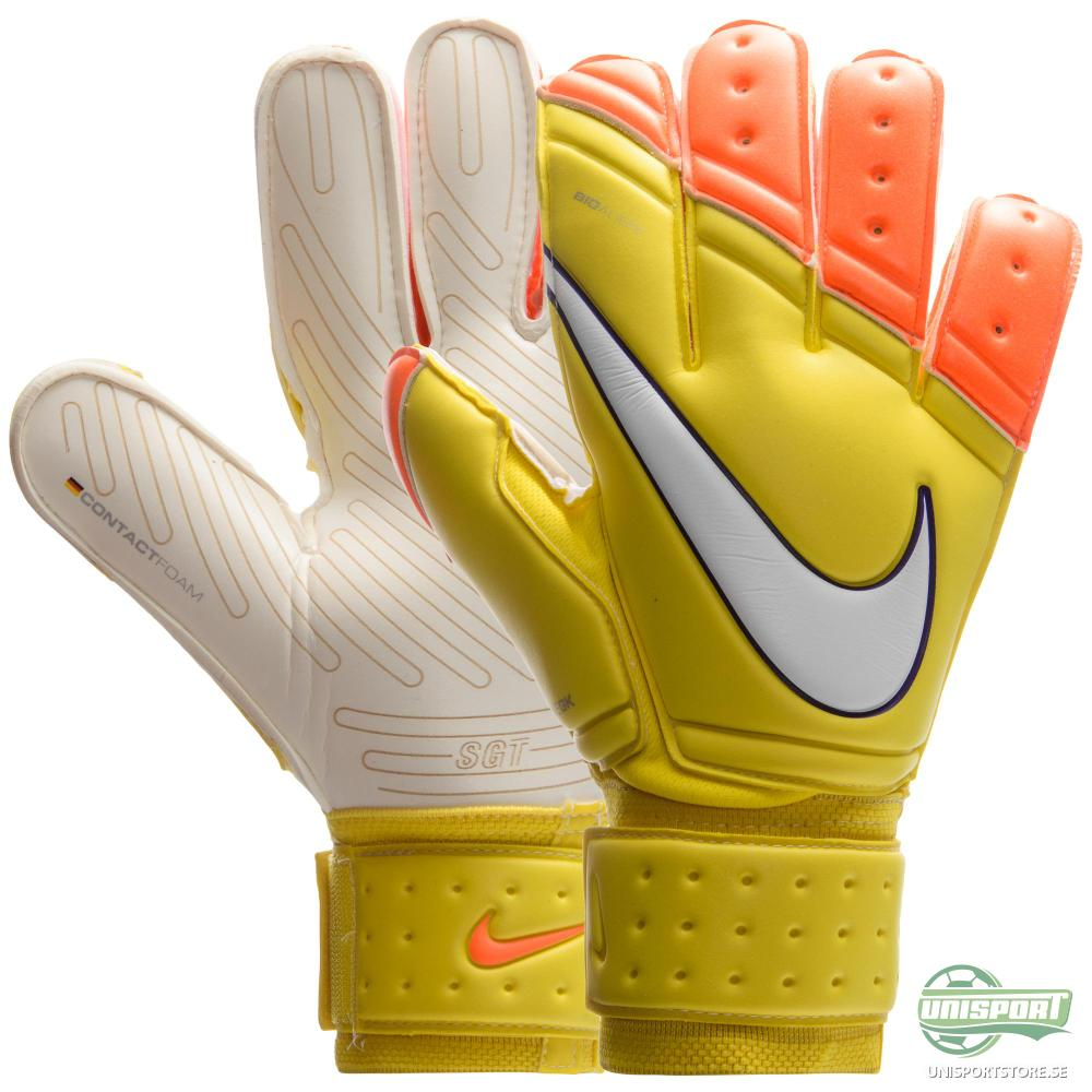 Nike Målvaktshandske Premier SGT Gul/Orange