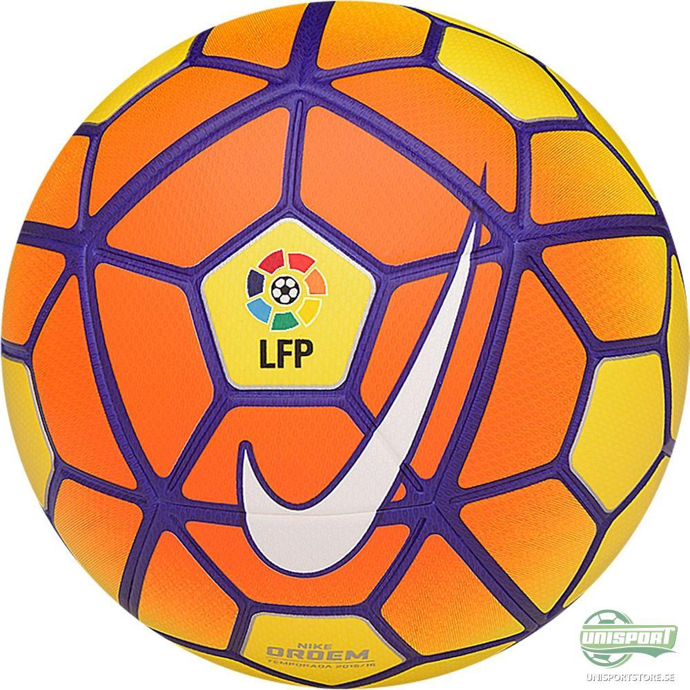 Nike Fotboll Ordem III LFP La Liga Gul/Orange/Lila