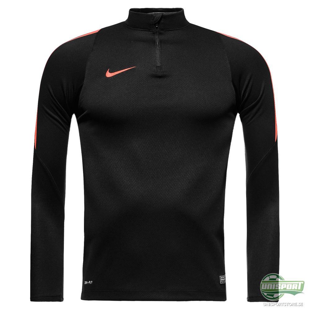 Nike Träningströja Midlayer Drill Svart/Röd Barn