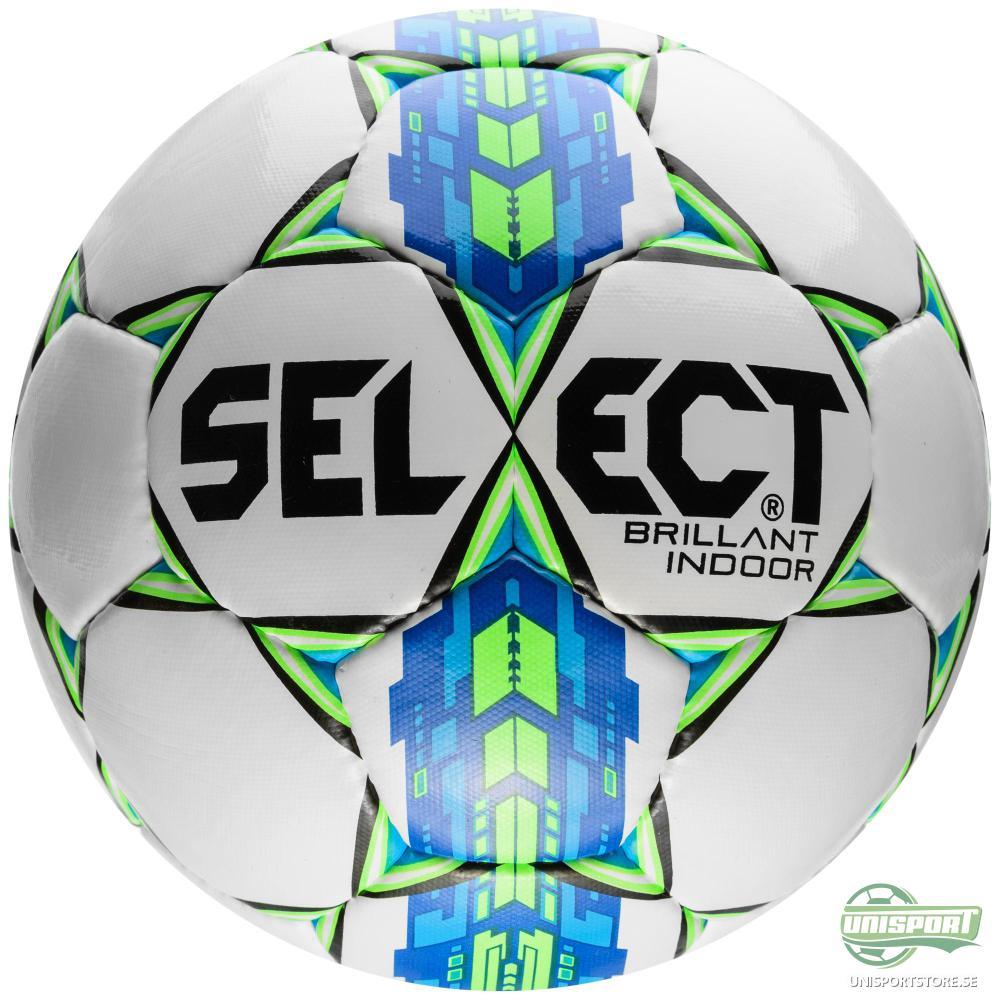 Select Fotboll Brillant Super Indoor Vit/Grön/Blå