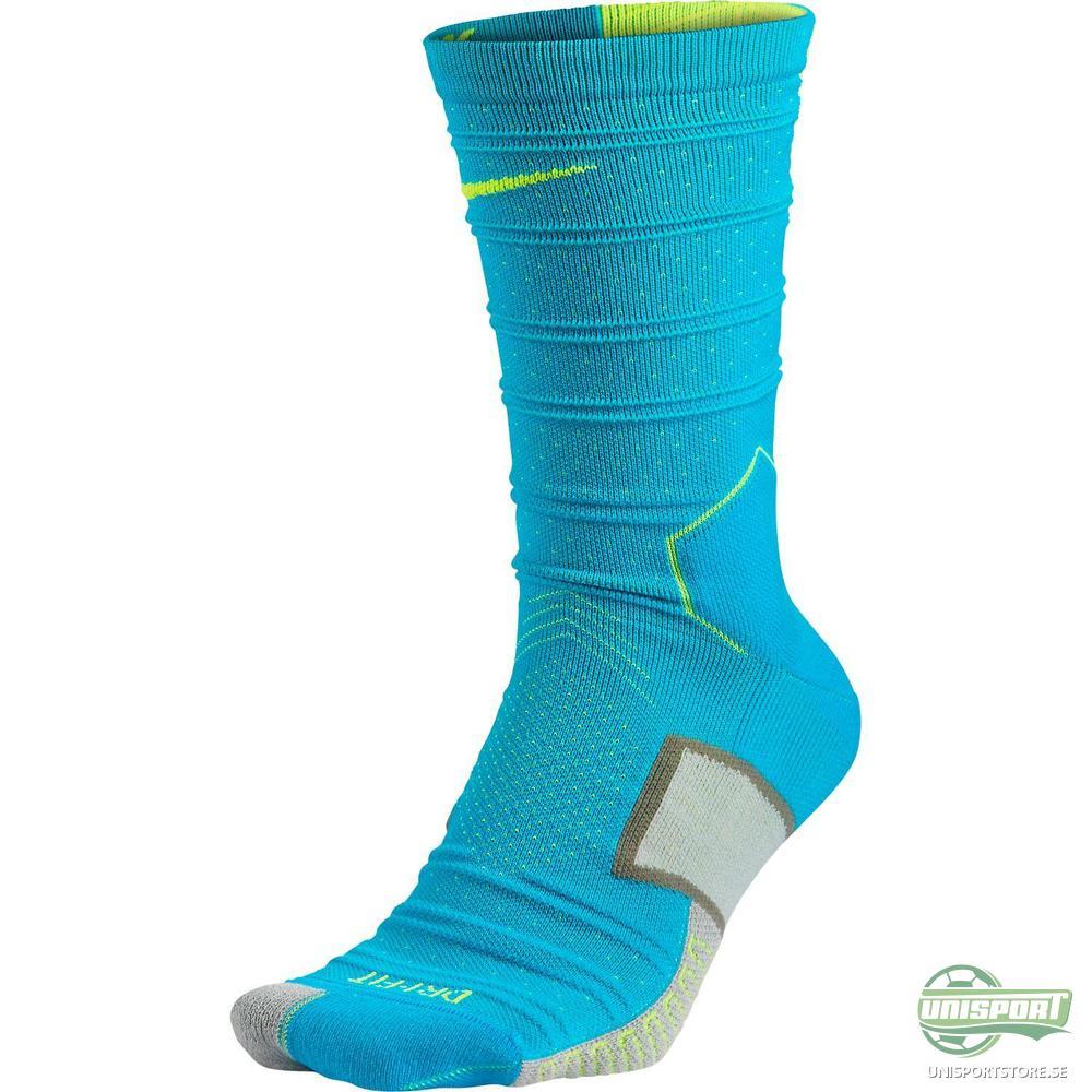 Nike Fotbollsstrumpor Elite Match Fit Mercurial Turkos/Neon