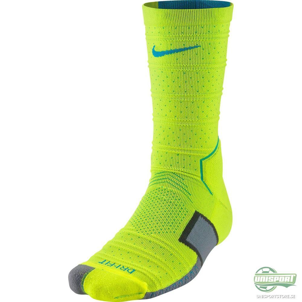 Nike Fotbollsstrumpor Elite Match Fit Mercurial Neon/Turkos